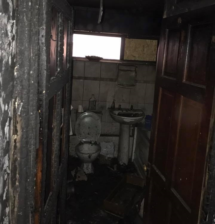 Fire Damaged Bathroom Birmingham