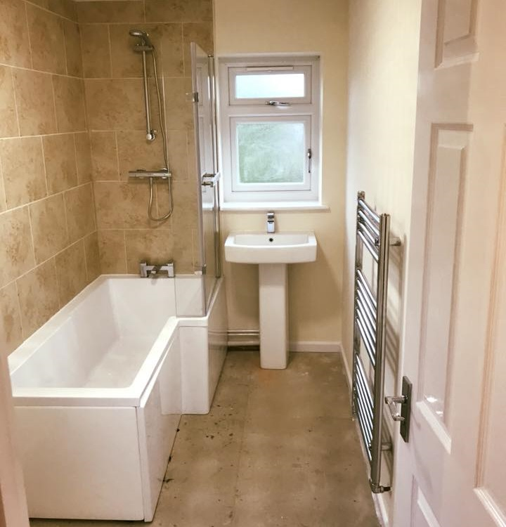 Renovated Bathroom After