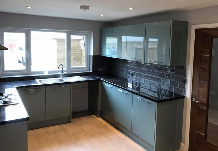 modern kitchen fitters shrewsbury