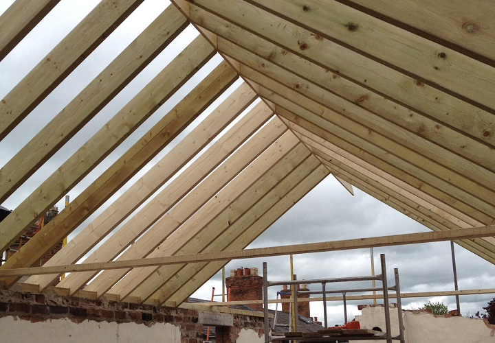 First Fix Roofing Joists