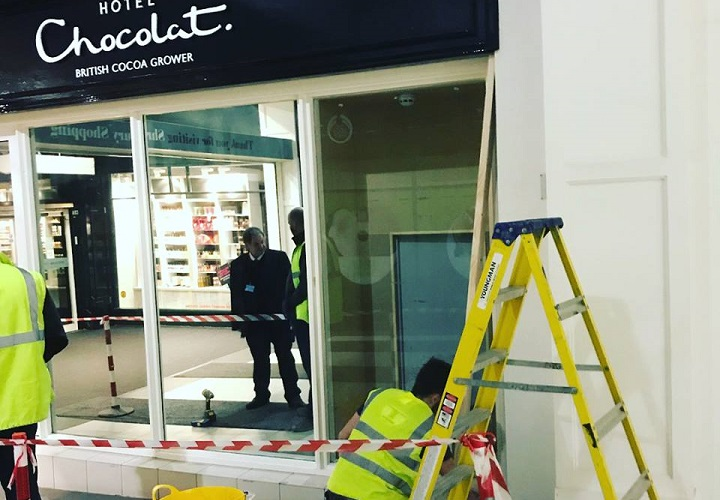 Hotel Chocolat Shop Fitters