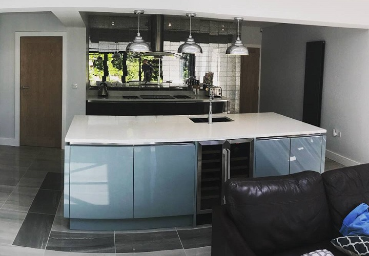Luxury Fitted Contemporary Kitchens Shrewsbury