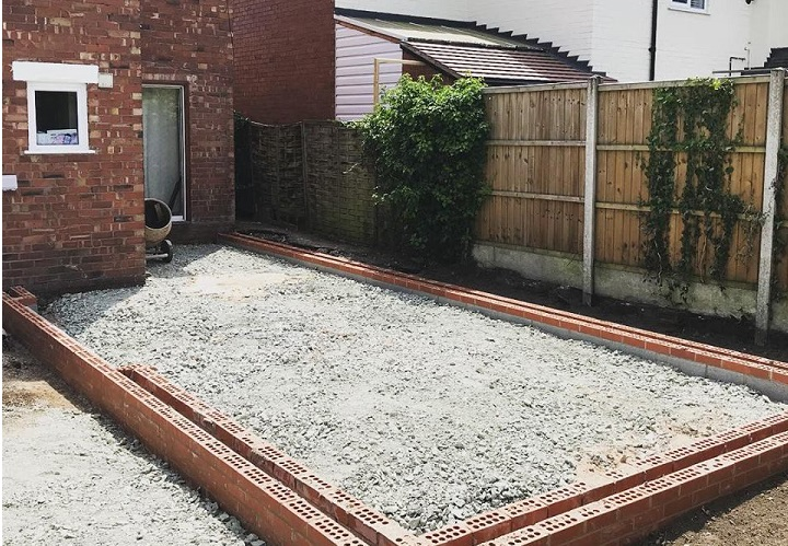 New Build Extension Footings