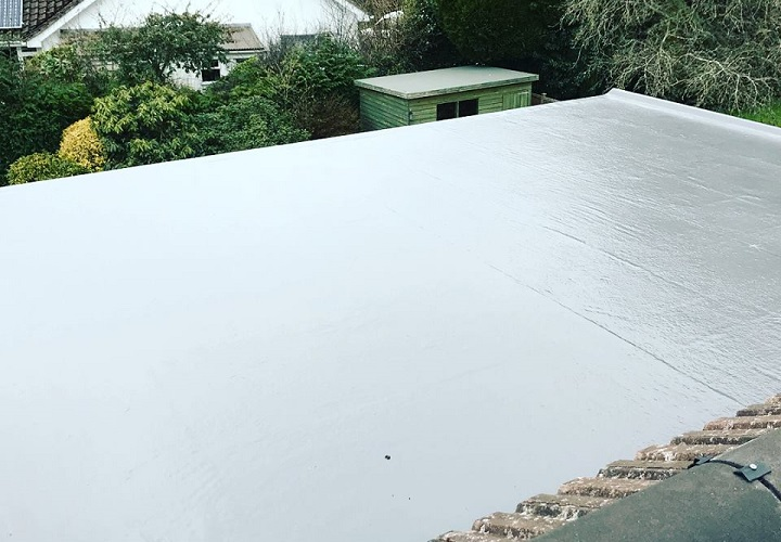 New Build Flat Roof