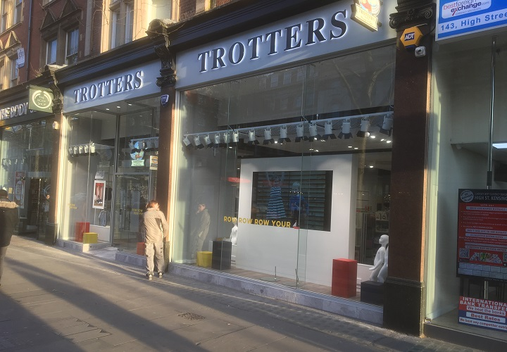 Trotters Childrens Wear Fit Out Contractors